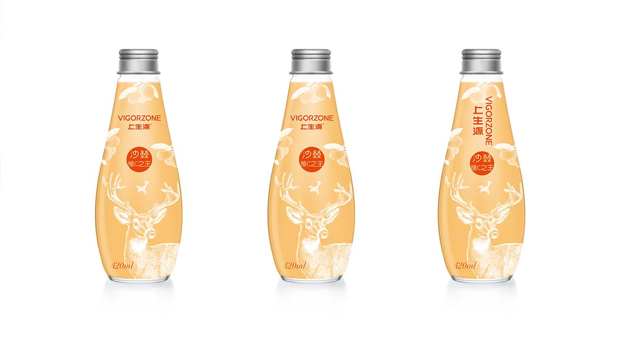 沙棘汁包装设计